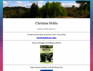 christinahollis.com screenshot