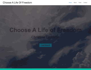 christine-gilmartin.com screenshot