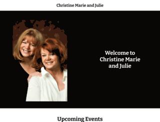 christinemarieandjulie.com screenshot
