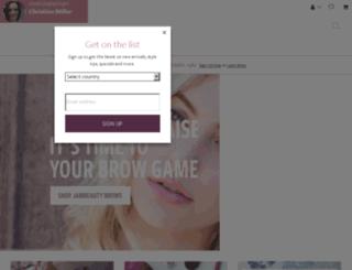 christinemiller.jamberry.com screenshot