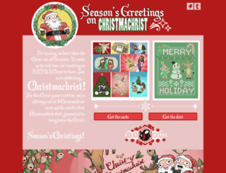 christmachrist.com screenshot