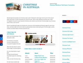 christmas-australia.com screenshot