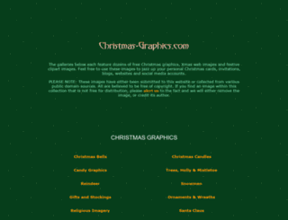 christmas-graphics.com screenshot