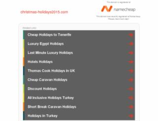 christmas-holidays2015.com screenshot