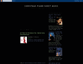 christmas-piano.blogspot.com screenshot