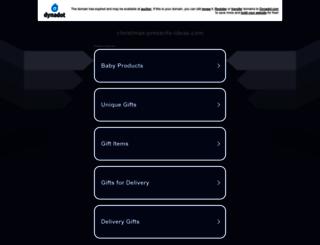 christmas-presents-ideas.com screenshot