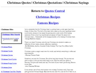 christmas-quotes.com screenshot