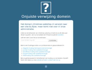 christmas-webshop.nl screenshot