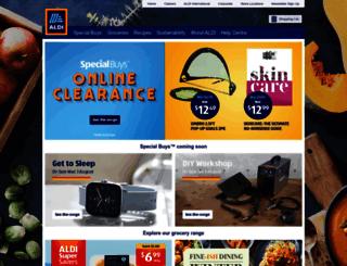 christmas.aldi.com.au screenshot