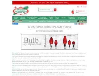 christmas.bronners.com screenshot