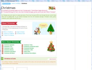 christmas.greet2k.com screenshot