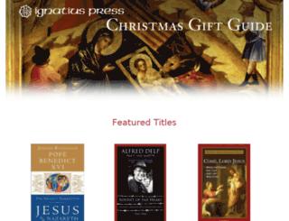 christmas.ignatius.com screenshot