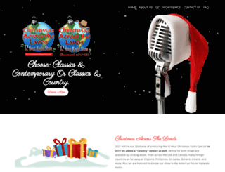 christmasacrossthelands.com screenshot