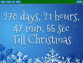christmasdaycountdown.net screenshot