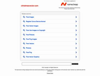 christmasvector.com screenshot