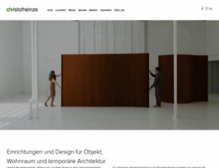 christofheinze.com screenshot