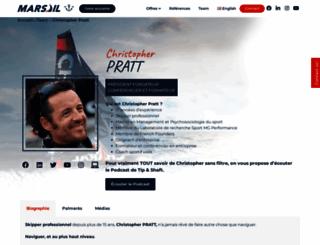 christopher-pratt.com screenshot