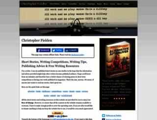 christopherfielden.com screenshot