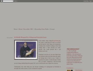 christopherjgordon.blogspot.com screenshot