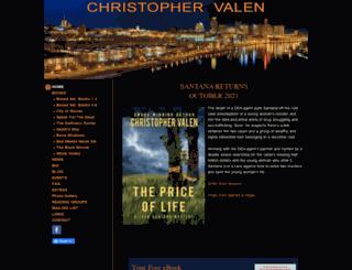 christophervalen.com screenshot