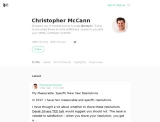 christophmccann.com screenshot
