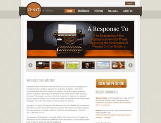 christorculture.com screenshot