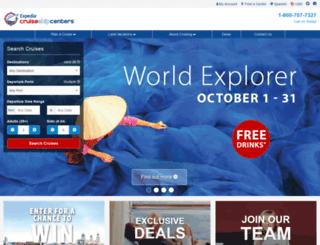 christyevers.cruiseshipcenters.com screenshot
