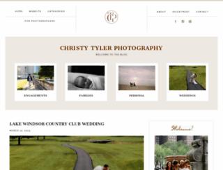 christytylerphotographyblog.com screenshot