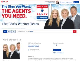 chriswerner.com screenshot