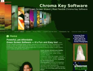 chromakeysoftwares.com screenshot
