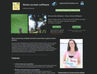 chromashop.com screenshot