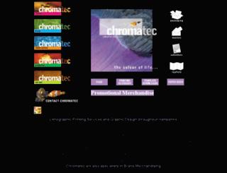 chromatec.co.uk screenshot