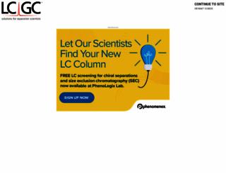 chromatographyonline.com screenshot