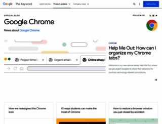 chrome.blogspot.com.es screenshot