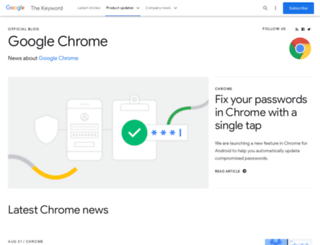 chrome.blogspot.com.tr screenshot