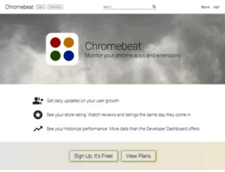 chromebeat.com screenshot