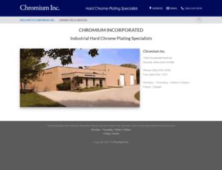 chromiuminc.com screenshot