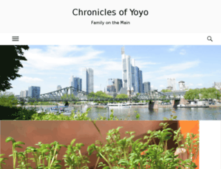 chroniclesofyoyo.com screenshot