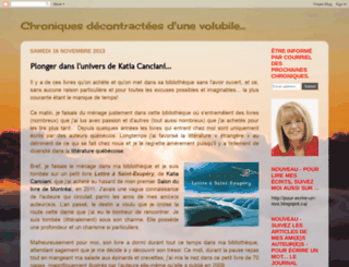 chroniques-decontractees.blogspot.com screenshot