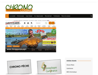 chrono-loisirs.fr screenshot