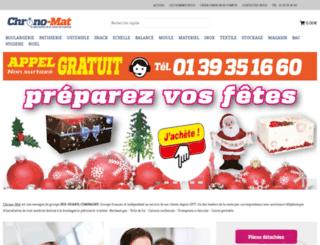 chrono-mat.com screenshot
