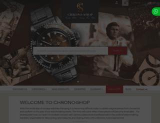 chrono-shop.net screenshot