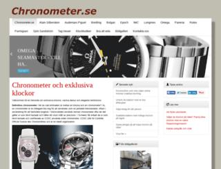 chronometer.se screenshot
