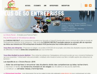 chronorecrut.com screenshot