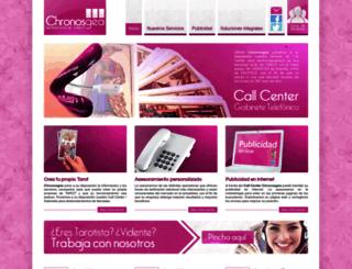 chronosgea.com screenshot