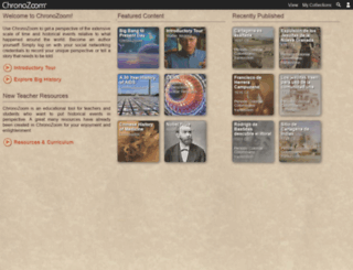 chronozoom.com screenshot