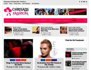 chrysalisfashions.net screenshot