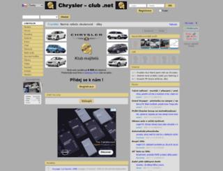 chrysler-club.net screenshot