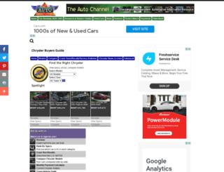 chrysler.theautochannel.com screenshot