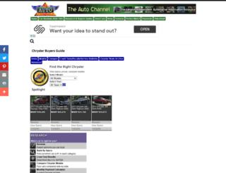 chryslerbuyersguide.theautochannel.com screenshot